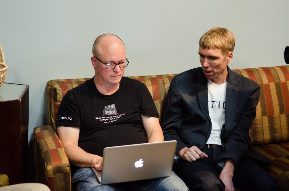 TechCrunch writer Alex Williams interviews Aaron Raddon of Lytics